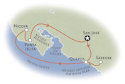 Costa Rica Map